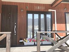 ビューティーサロンアリス建物、入口